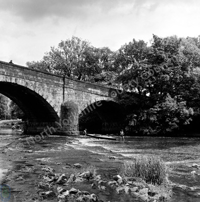 River Ribble and Paythorne Bridge